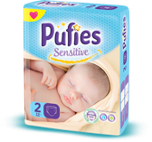 Pufies Sensitive: Package Size 2
