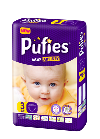 Pufies Package Size 3